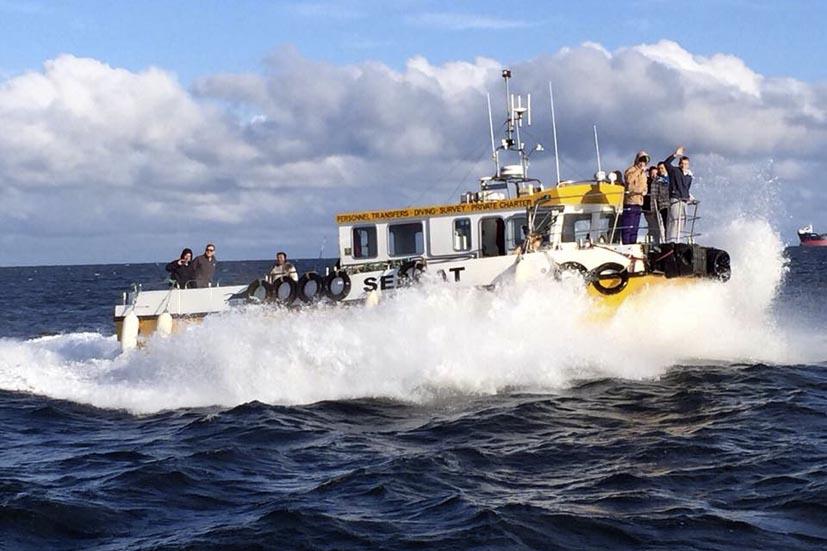 Boat trip on Seacat