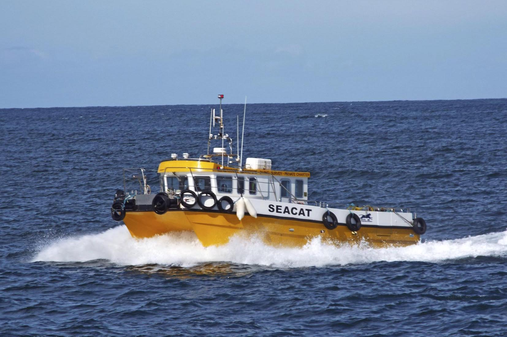 Seacat, based in Macduff